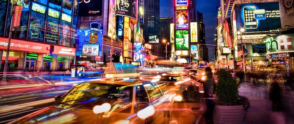 Times Square Sensory Overload
