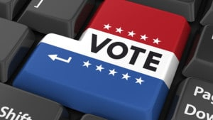 Vote Enter Keyboard