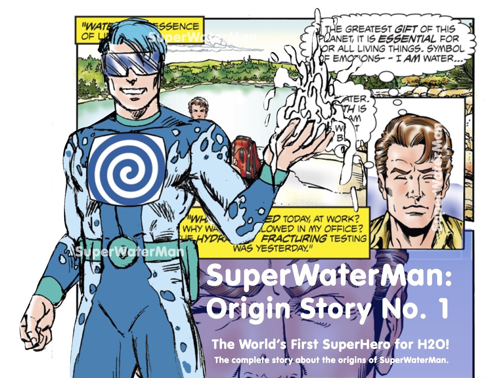 SuperWaterMan Presents Comic-Book Inker Extraordinaire Charles Barnett III