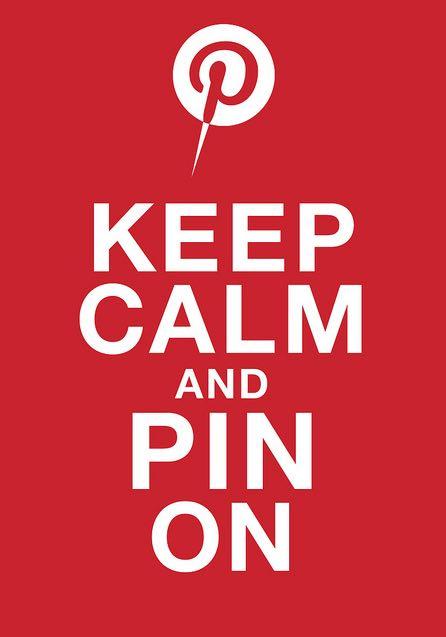 Keep Calm PIN On